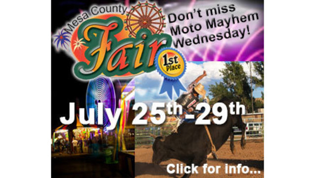 Win 2 Tickets to the Mesa County Fair!