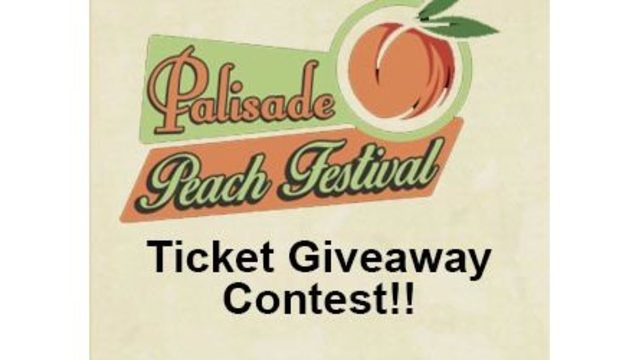 Palisade Peach Festival Weekend Pass Giveaway!