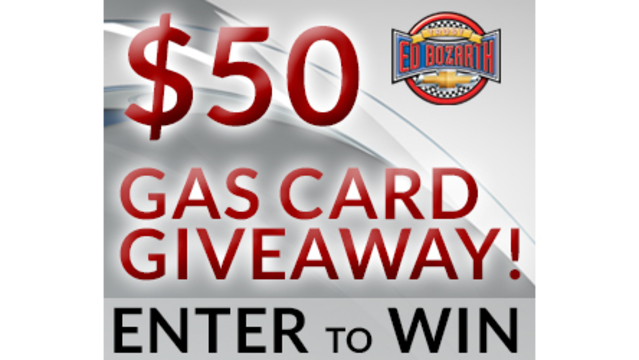 $50 Gas Card Giveaway