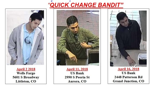 GJ Bank Robber Tied To Front Range Robberies