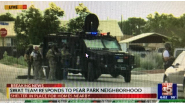 SWAT Standoff In Pear Park Neighborhood