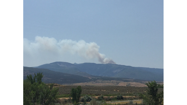 Firefighters Fighting Wildfire Near Rifle