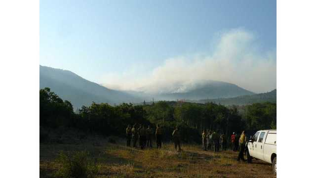 Cache Creek Fire Near Rifle Grows
