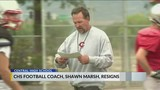 Shawn Marsh Leaves Central Football Program