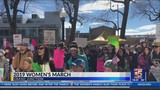 People Gather for 3rd Annual Women's March