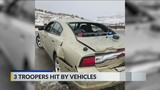 3 CSP Vehicles Hit in a 24 Hour Span