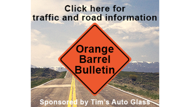 Orange Barrel Bulletin for the Week of May 13th, 2019